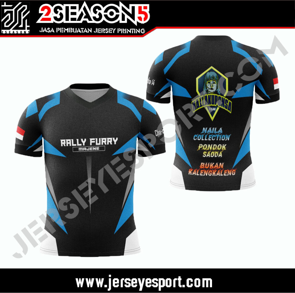 Custom Jersey Esport Indonesia