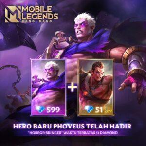 Hero Baru Phoveus Mobile Legend